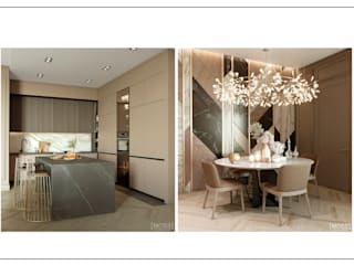 ЖК Башня CHKALOV от MOSS_Design_Studio Модерн