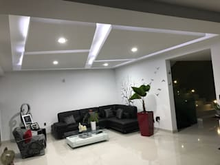 Modern living room by Prama tablaroca y acabados Modern