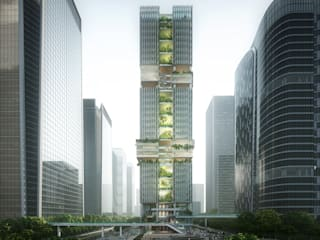 Transsion Tower, Building in 'Spirits of the Internet' by Architecture by Aedas Modern
