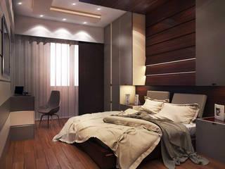 İsmail Sağıt Apartment Modern Yatak Odası MAK Concept Mimarlık Modern