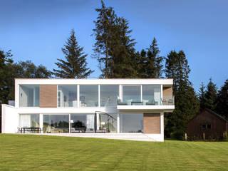 Stirlingshire House Minimalist Evler Ewan Cameron Architects Minimalist
