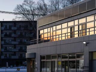 打ち放しのオフィス の 安田建築設計事務所 モダン