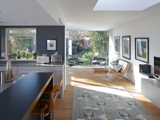 Jordanhill Extension de Ewan Cameron Architects Minimalista