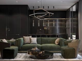 Modern living room by U-Style design studio Modern