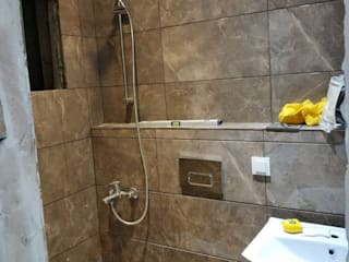 Ulus Mah. Noterler Birliği Sitesi Ev Yenileme Projesi Modern Banyo Sağlam Yenileme Modern