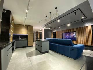 Современный интерьер для делового человека Гостиная в стиле лофт от Стильная обстановка Лофт