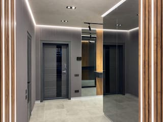 Современный интерьер для делового человека Коридор, прихожая и лестница в стиле лофт от Стильная обстановка Лофт