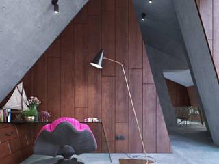 Greenhouse - bedroom od Wamhouse Nowoczesny