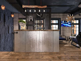 Студия дизайна интерьера квартир в Киеве belik.ua Industrial style offices & stores
