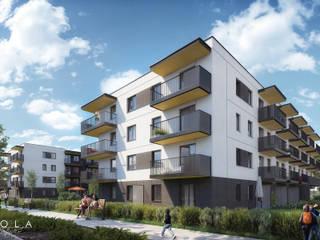 Greenery and architecture / Zieleń i architektura od Kola Studio Architectural Visualisation
