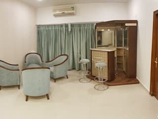 Living Room: colonial  by Esthetics Interior,Colonial