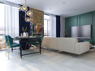 Студия дизайна интерьера квартир в Киеве belik.ua Asian style living room