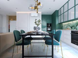 Студия дизайна интерьера квартир в Киеве belik.ua Asian style dining room