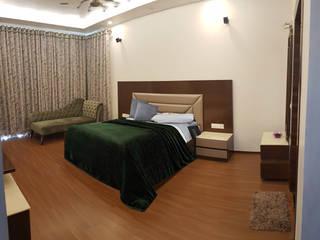 3 BHK Residence: modern  by Esthetics Interior,Modern