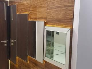 Living Rooms Modern corridor, hallway & stairs by Esthetics Interior Modern