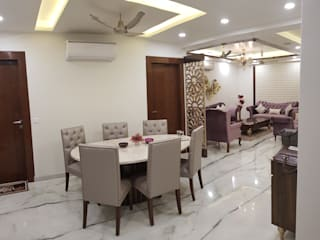 Residencial Project -3 Modern dining room by Esthetics Interior Modern