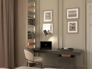 ЧАСТНЫЙ ДОМ Рабочий кабинет в классическом стиле от MOSS_Design_Studio Классический