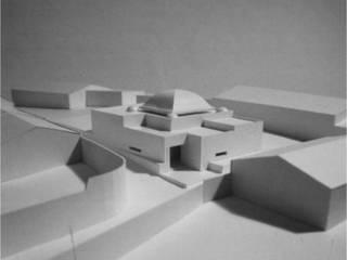 Igreja de Albergaria dos Fusos Espaços de trabalho minimalistas por Jorge Cruz Pinto + Cristina Mantas, Arquitectos Minimalista