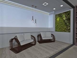 Área Social Cerejeira por MEI Arquitetura e Interiores Eclético