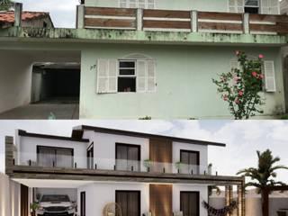Reforma Casa da Praia (Itapoá) Danilo Rodrigues Arquitetura Casas familiares