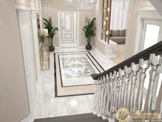 Частный дом в стиле неоклассика, г.Ессентуки от ООО 'Студия дизайна Инталио' Классический
