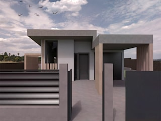 Divers Arquitectura, especialistas en Passivhaus en Sabadell Single family home Wood Grey