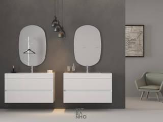 KitBanho ® BadezimmerArzneischränke MDF Weiß