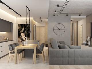 Студия дизайна интерьера квартир в Киеве belik.ua Minimalist living room