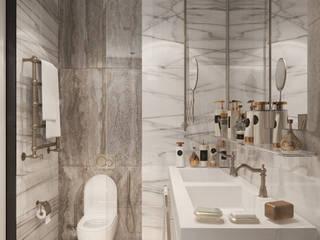 Студия дизайна интерьера квартир в Киеве belik.ua Classic style bathroom