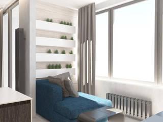 Студия дизайна интерьера квартир в Киеве belik.ua Balcony
