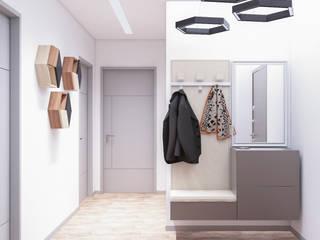 Студия дизайна интерьера квартир в Киеве belik.ua Коридор
