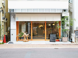 cafe634洗足池店 の 前見建築計画一級建築士事務所(Fuminori MAEMI architect office) モダン