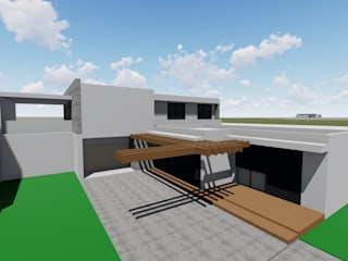 Habitação unifamiliar Aveleda por Gabriela Mota