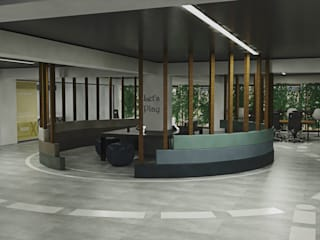Ofis Tasarımı İç Mimar Sevil Madan Ofis Alanları
