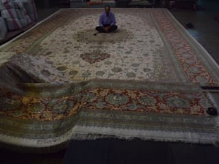 Extra Large Persian Handmade Carpets: classic  by PrestiRug, Classic