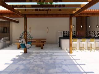 Classic style balcony, veranda & terrace by Fark Arquitetura e Design Classic
