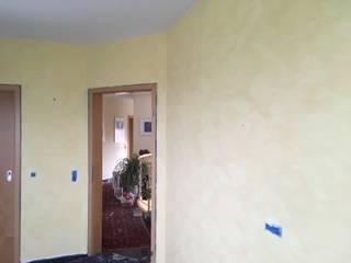 técnicas de pintura com escova por Colour Castle Mediterrânico