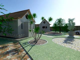 Casas Pequeñas Eco de f&j Diseños Moderno