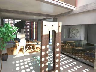 Casa Jackie de f&j Diseños Minimalista