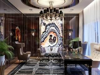 Oficinas y bibliotecas de estilo clásico de Дизайн-студия элитных интерьеров Анжелики Прудниковой Clásico