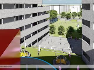 School Architecture Design in Chandigarh by Basics Architects Minimalist schools by Basics Architects Minimalist