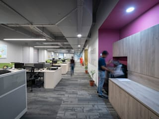 Landis + GYR - Workplace Interiors Industrial style offices & stores by Basics Architects Industrial
