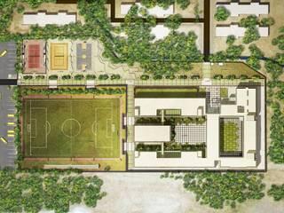 Master Plan of DBDS Shriram School by Basics Architects by Basics Architects