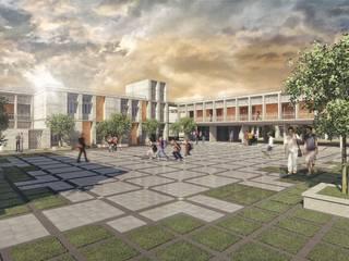 Master Plan of DBDS Shriram School by Basics Architects Minimalist schools by Basics Architects Minimalist