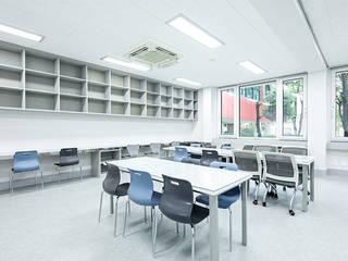 The Opened Teacher's Room_남천초등학교 by 지오아키텍처