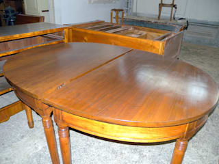 Gli Artigiani dei f.lli M.& S. Cordi snc Dining roomTables Wood Wood effect