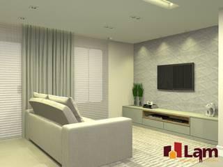LAM Arquitetura | Interiores ห้องนั่งเล่น