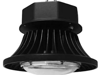 JLR LED Konservatori Gaya Industrial Black