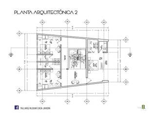 CASA JARDÍN | FLUVIAL, PUERTO VALLARTA Casas minimalistas de TALLARQ Minimalista