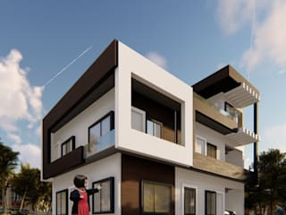 Residential House Design by Glassbox Plus Architects Minimalist